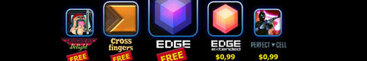 Mobigame ������� ����� �������: EDGE, Perfect Cell, EDGE Extended � ������...