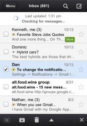 Официальный Gmail клиент на iOS обновился до версии 1.1