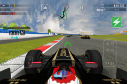 Обзор приложений - F1 2011 Game - Официальная игра F1 на iOS
