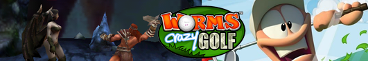 ������� ���������� Age of Barbarians � Worms Crazy Golf