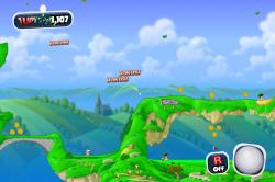 Сегодня обновились Age of Barbarians и Worms Crazy Golf