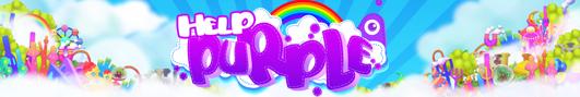 Геймплей видео игры HELP PURPLE на iPad 2 - Выход не загарами!