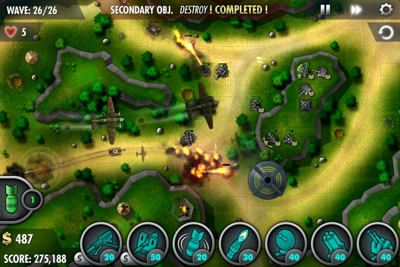 iBomber Defense for S^3 &#8211; Demoed on N8