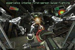 Роботы гладиаторы против человека в игре RobotGladi8tor на iOS