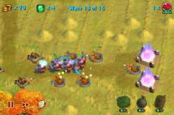 Обзор приложений - Towers N' Trolls: Голодные Тролли атакуют королевство!