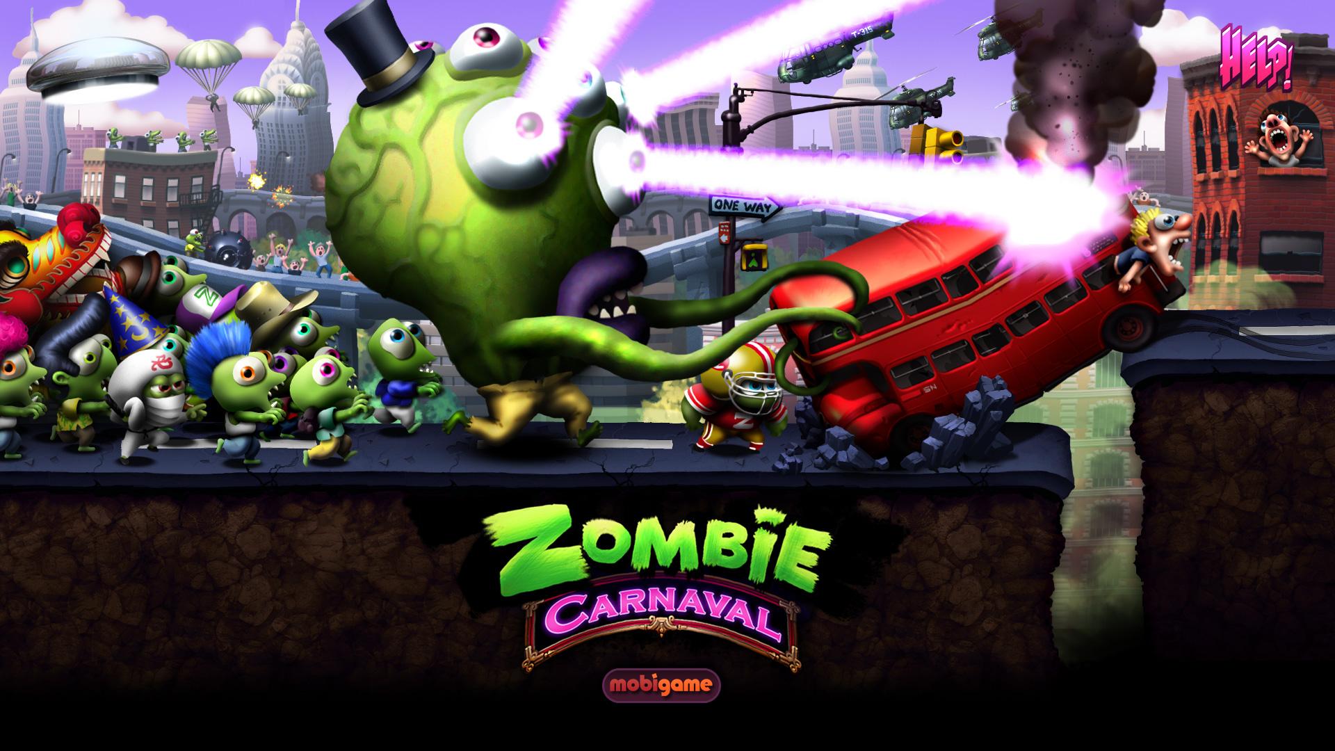 Новая Зомби игра от Mobigame, в Апреле