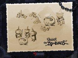 Infinite Dreams анонсировал новую игру – Shoot the Zombirds на iPhone