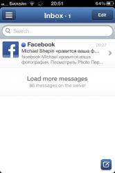 Почтовый клиент Sparrow получил поддержку iPhone и iPad