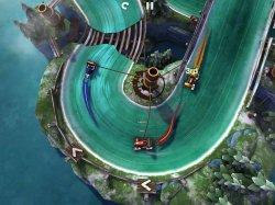 Slingshot Racing не обычные гонки с не обычным геймплеем, в Мае