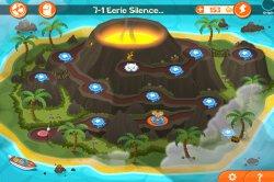 SPY Mouse получил новый мир Volcano Island, в новой версией 1.1.0