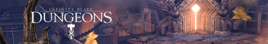 Infinity Blade: Dungeons - первое геймплей видео игры!