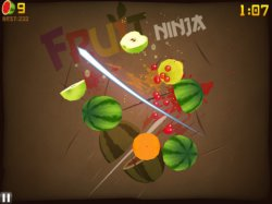 На Fruit Ninja: Puss in Boots HD и Fruit Ninja HD снизили цену