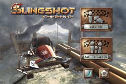 Обзор приложений - Slingshot Racing - Гонки с необычным управлением!
