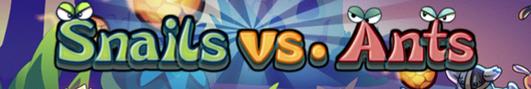 Snails vs. Ants битва улиток и муравьев в жанре tower defense