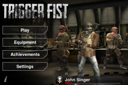 Обзор приложений - Trigger Fist многопользовательский шутер на iPhone