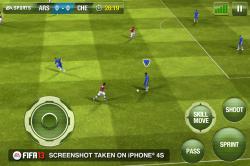 Официальные подробности FIFA 13 от EA SPORTS на iOS устройства!