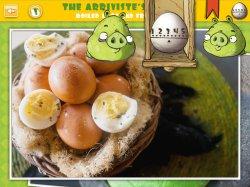 Bad Piggies Best Egg Recipes учимся жарить ворованные яйца!