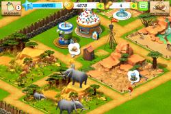 Сегодня от компании Gameloft вышла новая социальная игра «Чудо зоопарк» на iOS