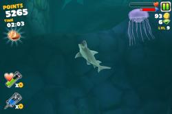 Обзор приложений - Hungry Shark Evolution - Кровожадная акула!