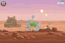 Angry Birds Star Wars от Rovio Entertainment Ltd доступен в App Store