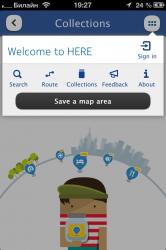 Карты HERE Maps от NOKIA доступны в App Store - Бесплатно!