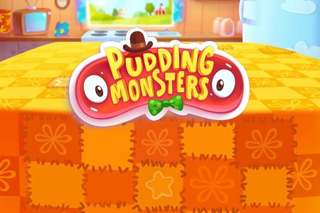 Обзор приложений - Pudding Monsters – Новая головоломка от создателя Cut the Rope
