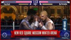 Real Boxing в обновлении получил Московскую зимнюю арену и сбросил цену!