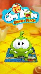 Ам Ням вернулся к нам в новом бесплатном приложении Om Nom: Candy Flick