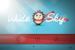 Красочная и стильная игра Wide Sky уже в App Store – Неужели ежик в тумане?